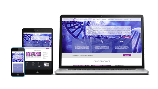 Orbit Genomics Website Design Puffer Web