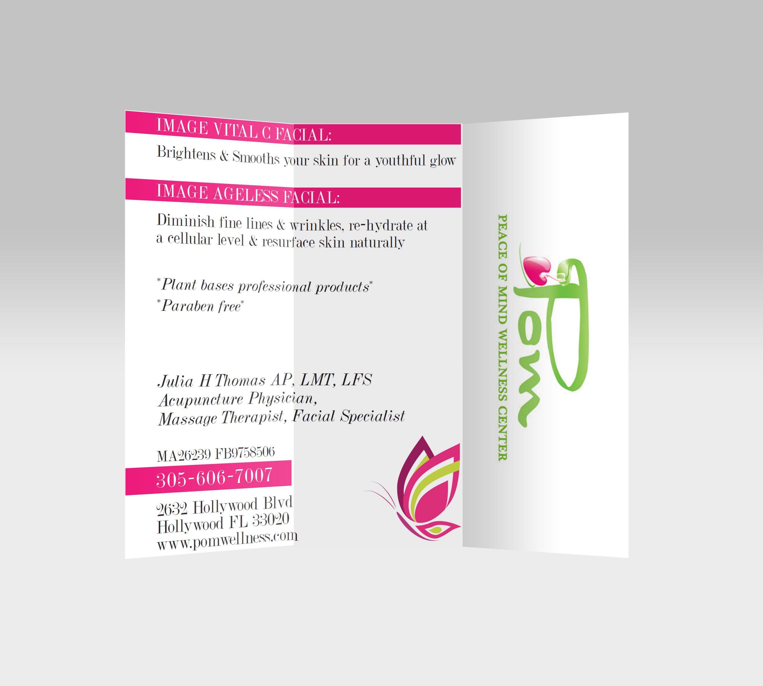 Pom Wellness Flyer